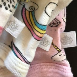 Rosie Pope Matching Sets - Rosie Pope flutter sleeve onesies and pants bundle